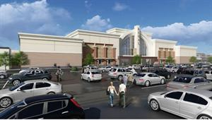Architect's rendering of the new Regal Crossroads 14 & RPX.