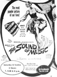 'The most popular picture of our time', 'The Sound of Music', returns to Salt Lake only a few months after finishing its 95-week run at the Utah Theatre.
