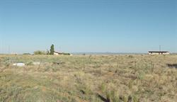 The site of the Mesa Drive In, with the projection building on the left. - , Utah