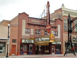The front of the Capitol Theatre from across the street. - , Utah