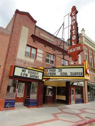 The front of the Capitol Theatre. - , Utah