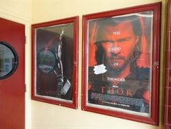 Poster cases on the right side of the entrance. - , Utah