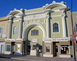 The front facade of the Casino Star Theatre in 2013. - , Utah