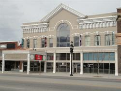The front facade of the Ellen Eccles Theatre. - , Utah