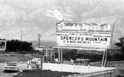The sign of the Riverdale Drive-In, about 1963. - , Utah