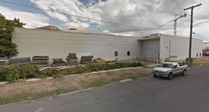 The west exterior wall of the Central Square development. - , Utah