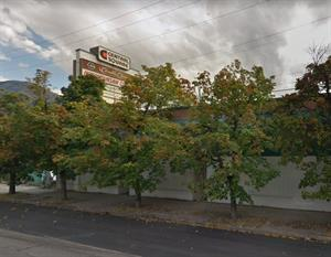 Carmike Cinemas still occupies the top space on the Central Square sign in 2011. - , Utah