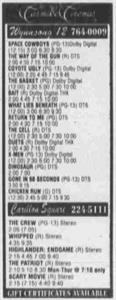 Last advertisement for the Carillon Square in the Daily Herald. - , Utah
