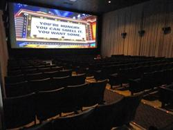 One of the auditoriums of the Cinefour.