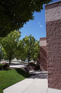 The exterior corners of three auditoriums. - , Utah