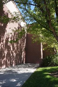 The exit path for Theaters 1 and 2. - , Utah