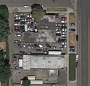 1458 South Main Street on Google Earth in 2019. - , Utah