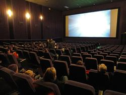 Theater 9 features a 40-foot wide screen and digital projection.