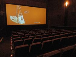 Theater 8, the smaller of two auditoriums added when Movies 7 became Movies 9. - , Utah