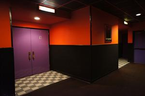The doors for theaters 8 and 9, with an exit on the right. - , Utah