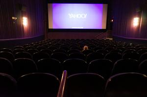 Theater 5, from a handicapped seating area in the center of the back row. - , Utah