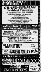 Grand Opening ad for the Valley Fair 4.