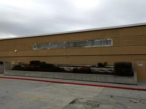 """The """"Valley Fair Movies 9"""" has been removed from the side of the building. - , Utah"""