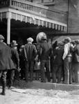 Men gather outside the Pace Theater in 1922. - , Utah