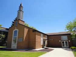 The meeting house of the Church of Jesus Christ of Latter Day Saints. - , Utah