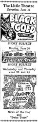 A news paper advertisement for the Little Theatre in 1948. - , Utah