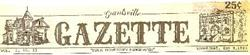 A drawing of the Grantville Opera House appeared in the logo of the newspaper Grantsville Gazette. - , Utah