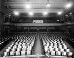 The empty auditorium of the American Theater. - , Utah