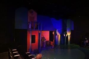 The set for Pippi Longstocking, as seen from the north seating section. - , Utah
