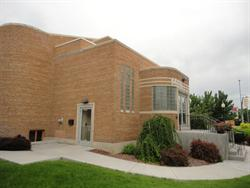 The entrance of the Midvale Performing Arts Center. - , Utah