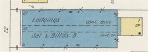 By 1917, Thomas Hall was lodgings, and a saloon and billards. - , Utah