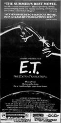 'E. T.: The Extra-Terrestrial' in 70mm Dolby Stereo at Century and Crossroads. - , Utah