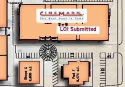 The Cinemark building, on the south end of the Shoppes at Eastgate. - , Utah