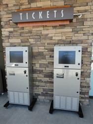 Ticket machines next to the theaters entrance. - , Utah