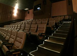 Looking toward the projection booth from the left aisle. - , Utah