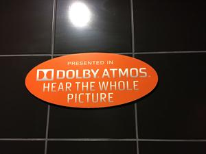 'Presented in Dolby Atmos.  Hear the whole picture.' - , Utah
