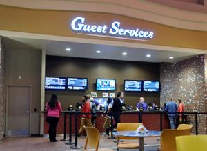 Moviegoers can purchase tickets at the Guest Services counter. - , Utah