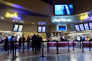 The concessions stand in the main lobby. - , Utah