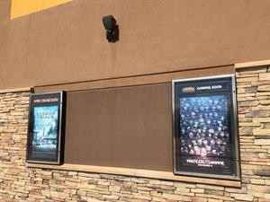 Two poster cases with a large gap between them. - , Utah