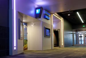 The south entrance to the IMAX theater, with door for Theater 13 in the background. - , Utah