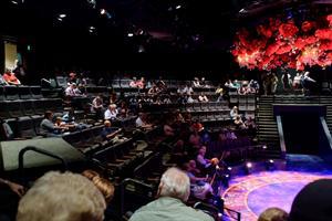 Looking across the auditorium. - , Utah
