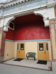 The entrance of the Empress Theatre in 2011.