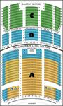 The seating chart of the Grand Theatre. - , Utah