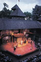 The stage of the Adams Shakespearean Theatre. - , Utah