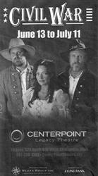 'Civil War' at the CenterPoint Legacy Theatre.