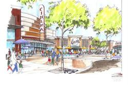 Artist's drawing of The Destination at West Haven development. - , Utah