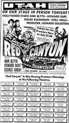 Newspaper ad for the Bonanza Theatre. - , Utah