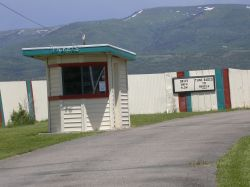 The ticket booth of the Basin Drive-In. - , Utah