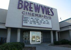 Entrance of the Brewvies Cinema Pub in Salt Lake City, Utah. - , Utah