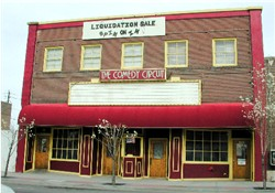 The front of the Comedy Circuit in 2002.