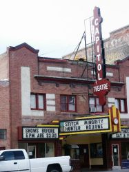 A view of the Capitol Theatre from across the street. - , Utah